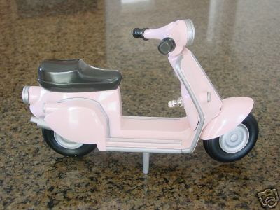 Pink Scooter Lamp 1
