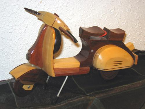 WoodenVespa