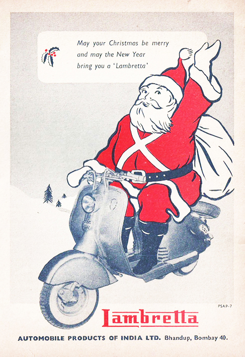 http://www.scooterswag.com/wp-content/uploads/2012/10/Lambretta-Christmas-Scooter-Ad-India.jpg