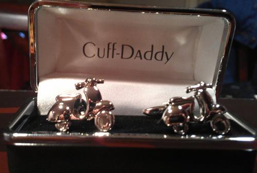 Cuff Daddy Cuff Links Vespa Scooter