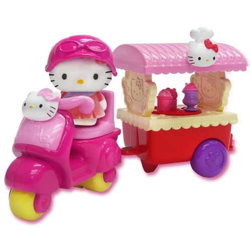 Hello Kitty Vellutata Ice Cream Cart Scooter Vespa