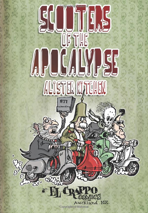 Scooters of the Apocalypse El Crappo Comics Comicbook