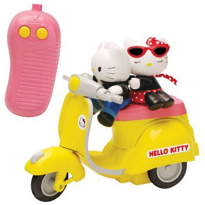 Velluttata Hello Kitty Scooter Vespa Remote Control Toy
