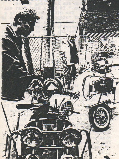 Allen Wallace & Libby Spow Magazine Vespa Scooter Mod