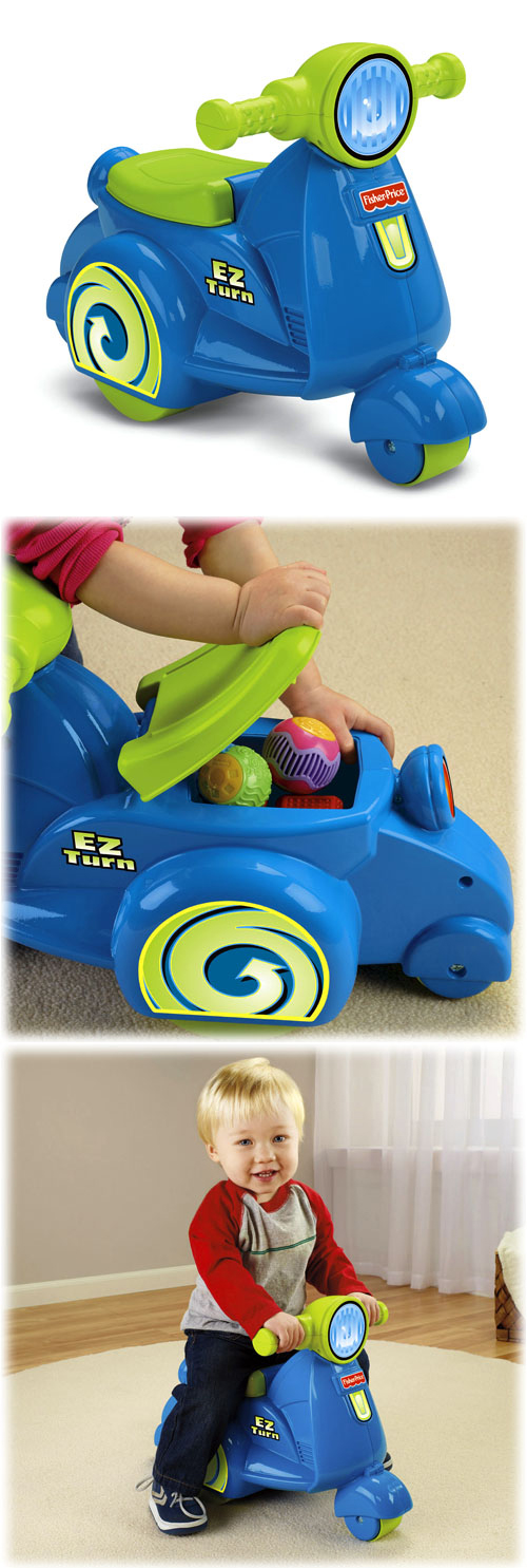 Fisher Price EZ Turn Vespa Scooter