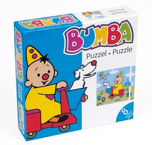 Bumba Puzzel Puzzle Scooter Vespa Clown