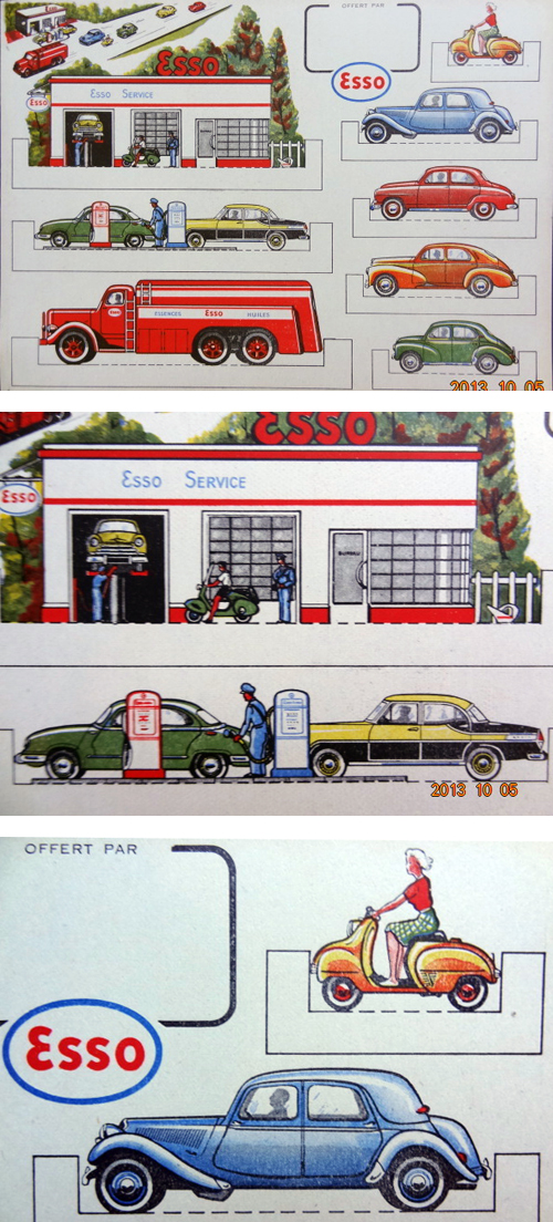 Esso Miniature Garage Scene