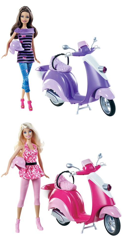 Barbie Glam Modern Vespa Scooter