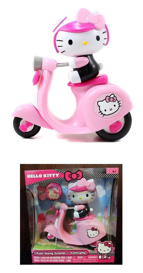 Push Along Scooter Hello Kitty Toy Vespa Mod