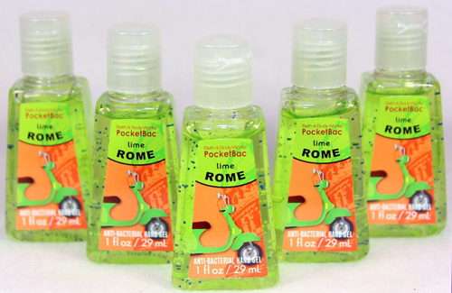 Bath Body Works Vespa Scooter PX P200 Green Lime Rome Anti-Bacterial