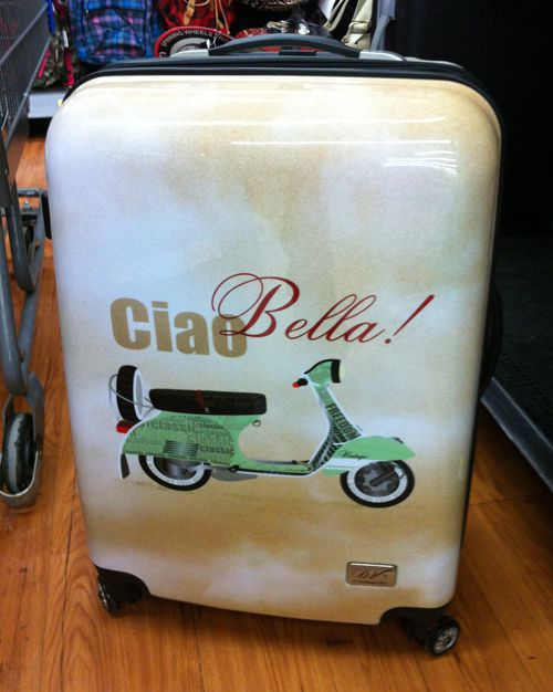 Ciao Bella Scooter Vespa Suitcase Rollie