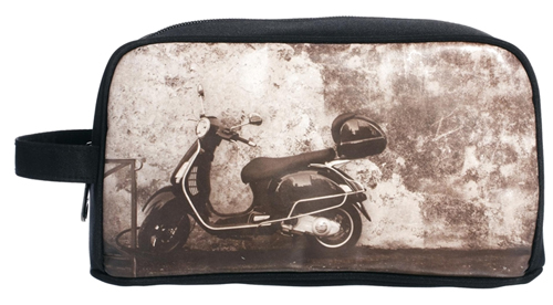 Modern Vespa Dopp Kit Bag