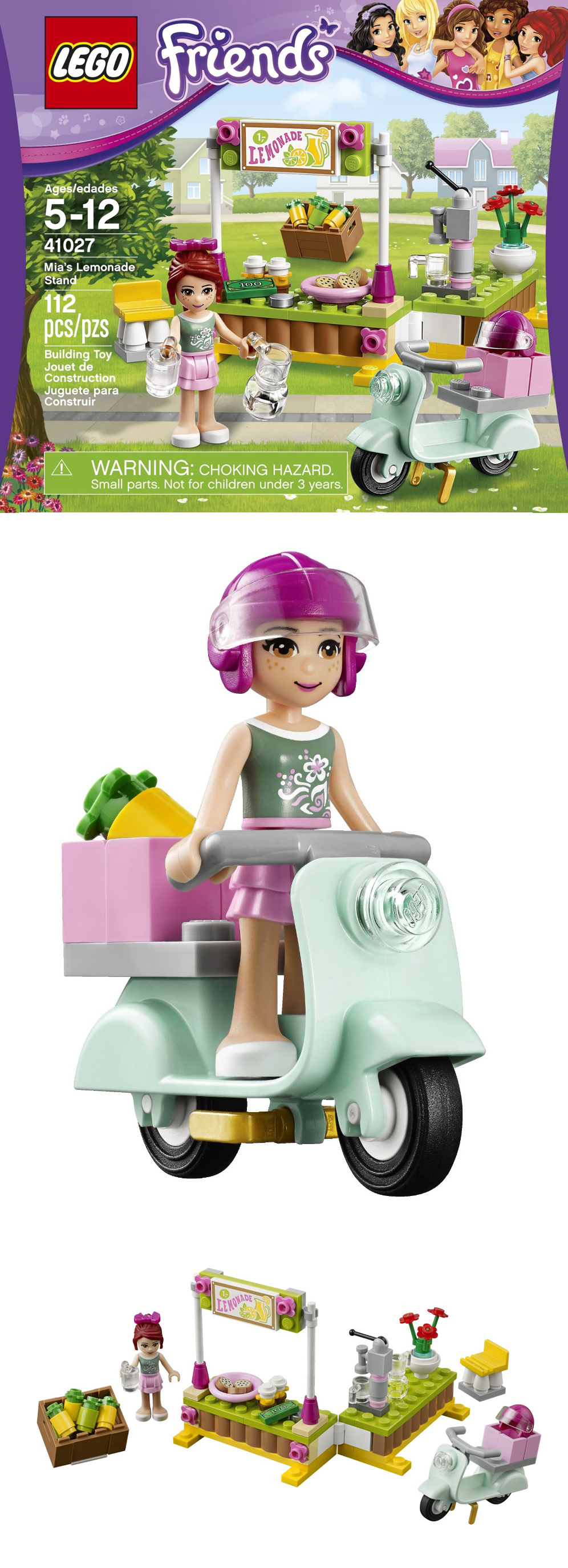 Mia's Lemonade Stand Legos Scooter Vespa