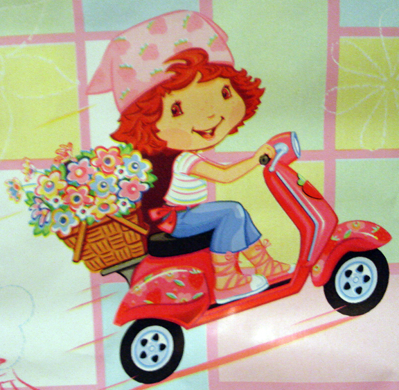 Strawberry Shortcake Wrapping Paper