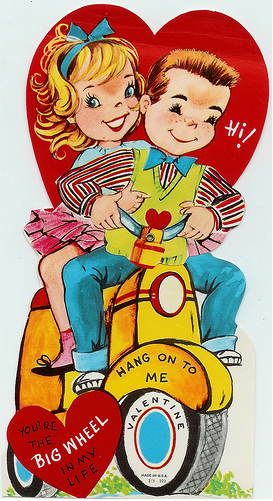 Yellow Scooter Valentine