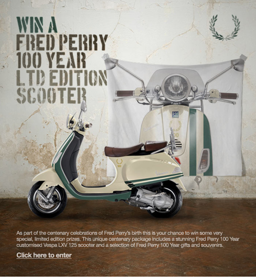 Fred Perry Scooter