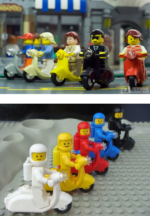 Lego Scooters