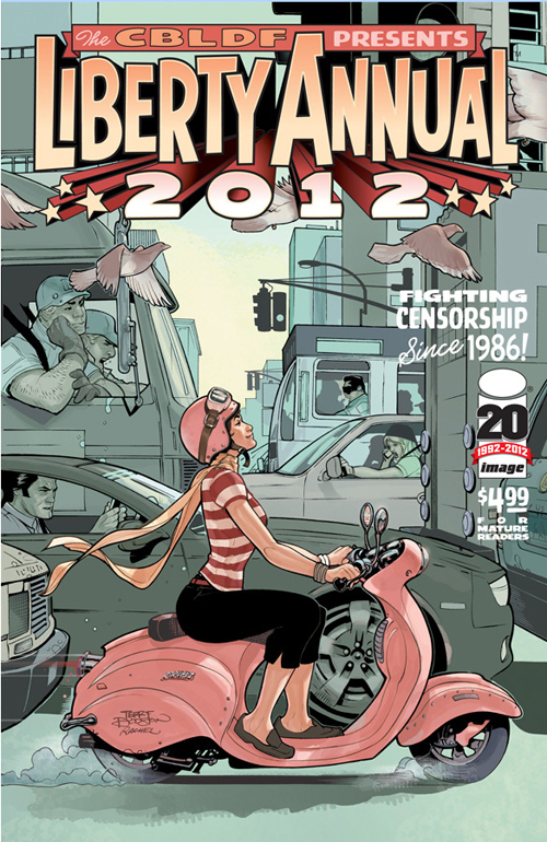 Liberty Annual 2012 Scooter Vespa Comic Book
