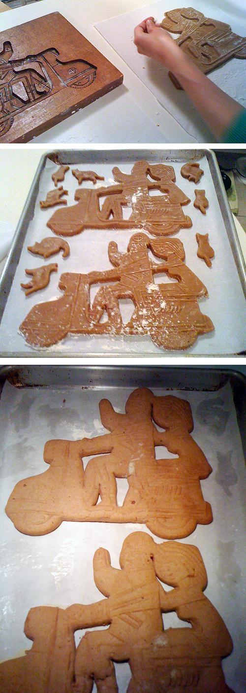 Scooter Vespa Heinkel Speculaas Cookies Mold