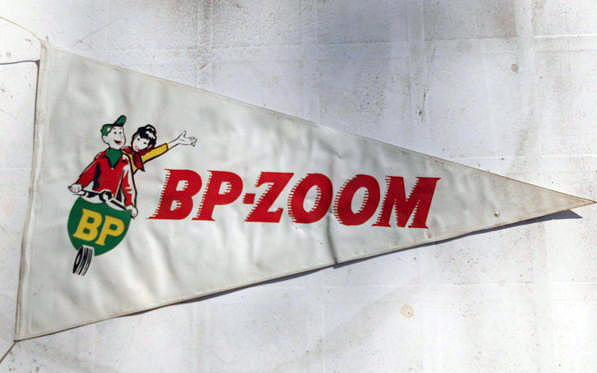 BP Zoom Scooter Vespa Pennant