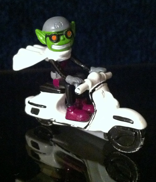 Teen Titan Vespa Scooter Figurine Model Toy