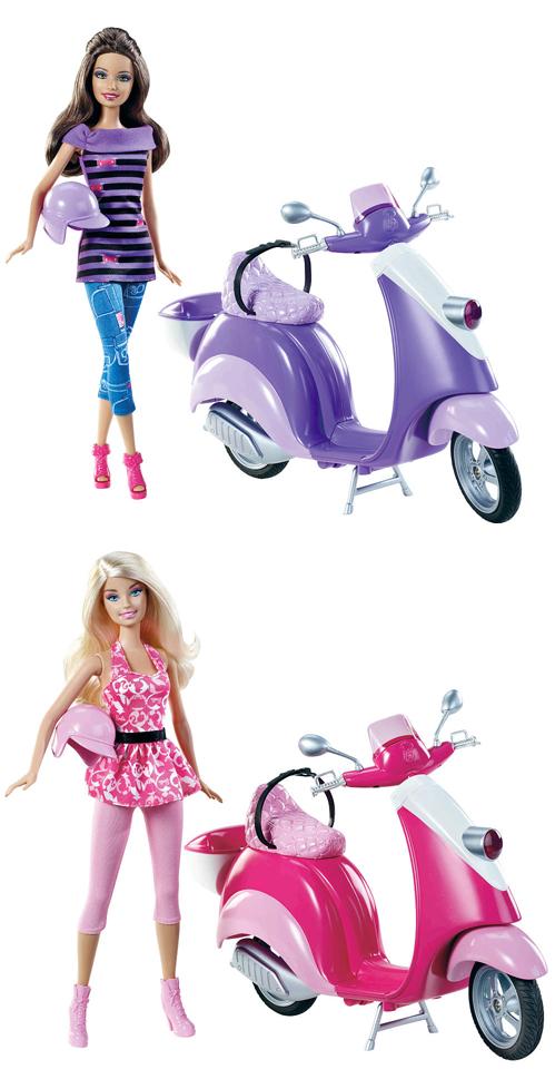 Barbie Glam Modern Vespa Scooter