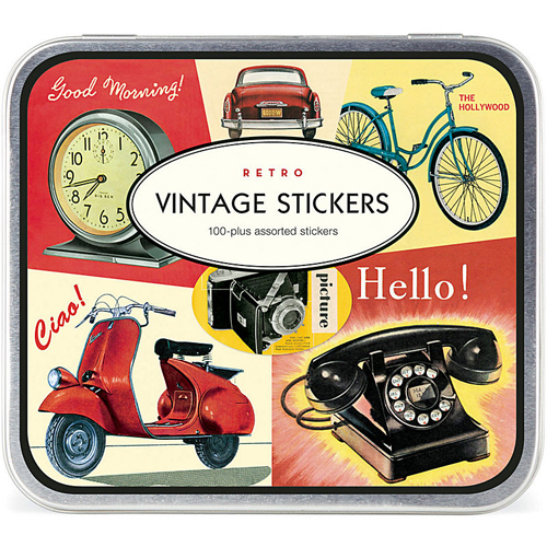 Vespa Stickers Fenderlight Vintage Calvallini Labels