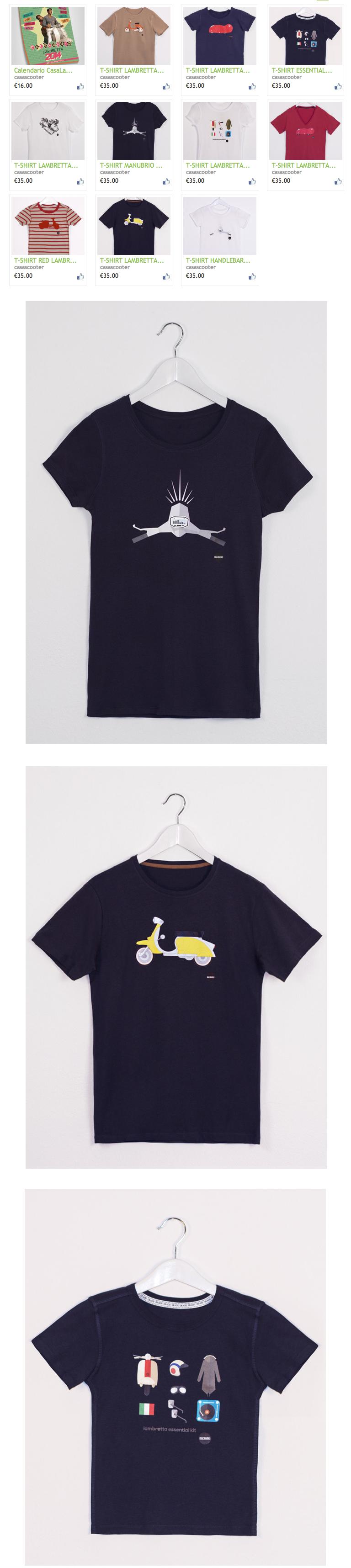 Casa Lambretta T-shirts Scooters